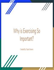 Why is Exercising So Important?-3.pdf