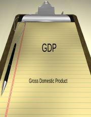 Measuring GDP.ppt