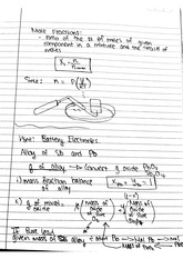 CHEM 122 Fall 2014 Mole Fractions Lecture Notes