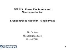 EEE213_Lecture3_Uncontrolled rectifier 1_1Phase_XF