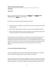 Behaviour Change and Communication (1).docx