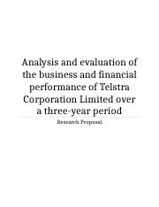 Analysis-and-evaluation-of-the-business-and-financial-performance-of-Telstra-Corporation-Limited-ove
