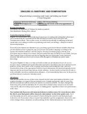 rhetorical analysis essay assignment