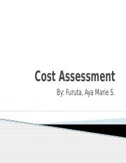 Cost Assessment and Configuration management.pptx