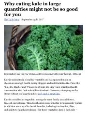 Why eating kale in large quantities might not be so good for you | Fox News.pdf
