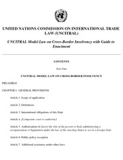 Class 7 Reading Material UNCITRAL Model Law on CBI Guide to Enactment