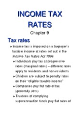9 (Income Tax Rates)[1]