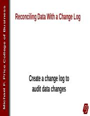 Reconciling Data With a Change Log.pptx