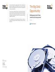 the big data opportunity.pdf