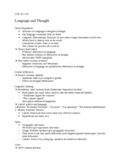 COG SCI 101 10 22 12 lecture    Language and Thought