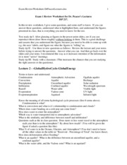 Exam-ReviewWorksheet-DrPeacorLectures