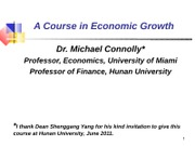 GrowthAccounting-Lecture 11