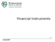 2 Financial Instruments