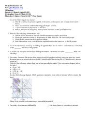 BCH 3033 Fall 2015 Worksheet 9.doc