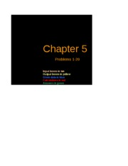 Excel Solutions - Chapter 05