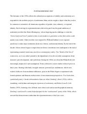 POSTMODERNISM UNIT.pdf