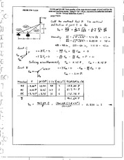1398_Mechanics Homework Mechanics of Materials Solution