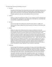 The major steps in planning and drafting an essay.docx
