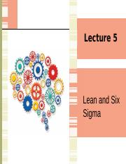 Lecture 5 Lean and Six Sigma.pptx