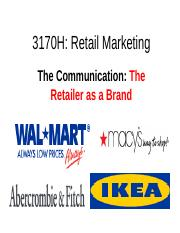 Admn3170H retailers' communication 2017.ppt