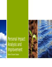 5.03 Personal Impact and Improvement Plan.pptx