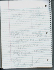 Math 1260 Basic Calc Notes 5