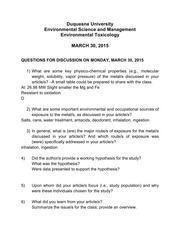 Discussion Questions 3