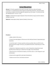 Assignment 1 - Inclined plane and Forces1.pdf