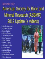 121112ASBMR Update 2012 Lilly Videos_ppt