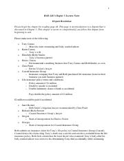 BAD 2413 Chapter 3 Lecture Notes Online
