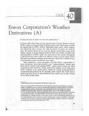 enron weather