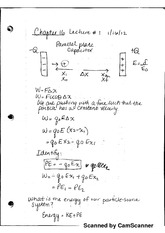 Voltage and Capacitors Notes