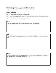 publishing_your_argument_worksheet
