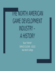 The North American Game Development Industry.pptx