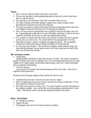Education 441 Notes 8
