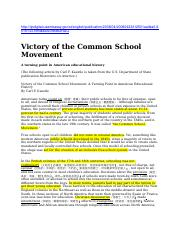 Victory of the Common School Movement.docx