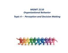 Topic 4 Perception and Decision Making.pdf
