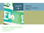 ch04 Software - System and Application Software