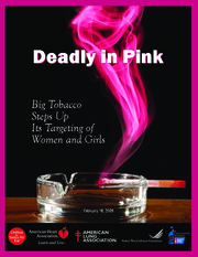 Deadly in Pink - Cigaratte advertising targeted to women