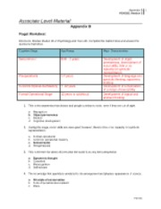 Paiget Worksheet