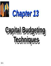 Chapter-13-Capital-Budgeting-Techniques.ppt