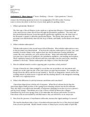 BIO 130 Topic 3 Assignment 3.docx