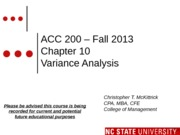 #14 CH 10 MOODLE ACC200 Variances Fall 2013 (1)