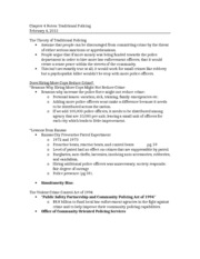 Chapter 4 Notes CRJ 201