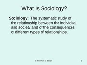 201.02 Developing a Sociological Perspective and Imagination