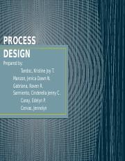 PROCESS DESIGN PPT.pptx