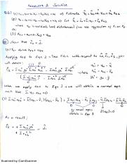 Econ301 Problem Set 3 Solutions of the Selected Questions - Homework 2