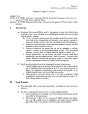 Ch. 5  Notes-Fall 2009