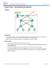 1.1.2.9 Packet Tracer - Documenting the Network Instructions.docx