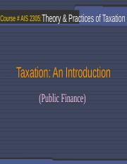Sessions 01_Introduction_Public Finance